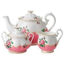 country roses tea set buy pink tea set from bed bath beyond