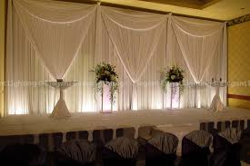 wedding backdrop simple we this simple white fabric backdrop that created a