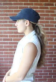 baseball hairstyles baseball hat hairstyles the dress decoded