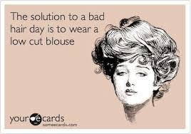 Bad Hair Day Meme - the solution to a bad hair day