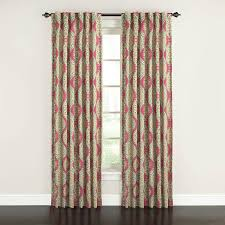 Discount Waverly Curtains Shop Waverly Moonlight Medallion 84 In Golden Cotton Back Tab