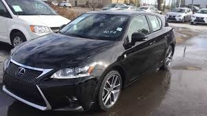 lexus dealer in ct 2014 lexus ct 200h hybrid in black f sport package review youtube