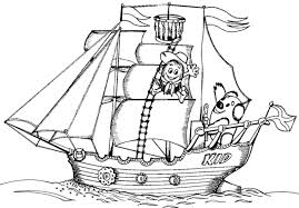 Coloring Boat Coloring Pages 2