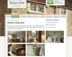 design and build of website for luxury holiday home pudding