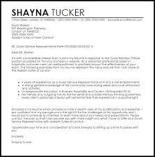 unique client service representative cover letter 26 for your