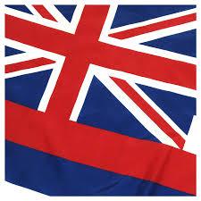 Image Of Hawaiian Flag Hawaii 3x5ft Nylon Flag With Pole Hem Only Banner
