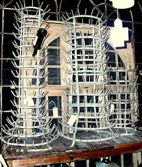 no minimalist here french bottle drying rack
