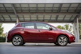nissan leaf federal tax credit 2016 nissan leaf with bigger battery and better range from 34 200