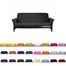 Faux Leather Futon Cover Colorful Futon Roselawnlutheran