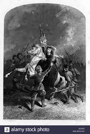 Union Army Flag 1800s 1860s Heroic Annie Etheridge Horseback Holding Flag Union