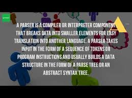 parse resume definition what is the use of parsing youtube