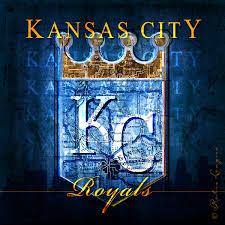 Royals Stadium Map Kansas City Royals Map Loyal Royal Skyline Art Perfect