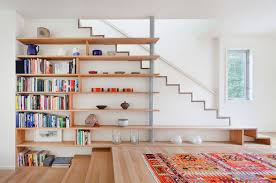 Bookcase Shelves 50 Creative Ways To Incorporate Book Storage In U0026 Around Stairs