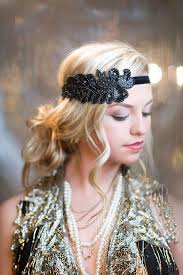 great gatsby hair accessories 1920s hair accessories black beaded sequin headband 1920 s