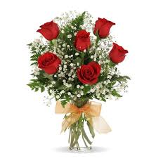 same day flower delivery s dayvalentines two dozen roses flowerama columbus