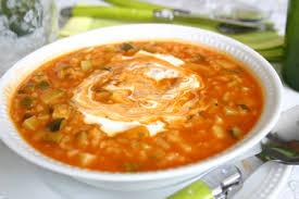 recette de cuisine avec des courgettes recette soupe de courgettes tomates et riz cuisinez soupe de