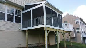 covered porch pictures screened porch builder bowie upper marlboro md