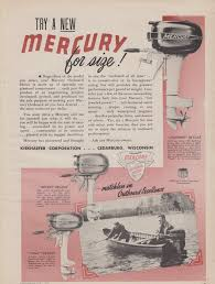 1963 mercury outboard boat motor 8 models photo vintage print ad