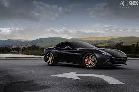 ferrari black stunning black ferrari california t with ag luxury wheels gtspirit