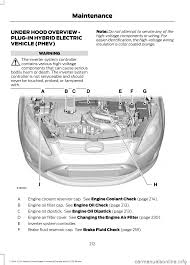 oil filter ford c max hybrid 2015 2 g owners manual
