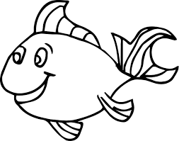 salmon fish coloring page fish coloring pages for kids preschool and kindergarten