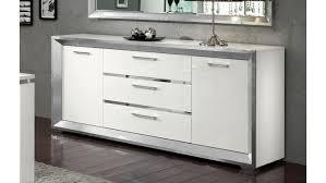 buffet design bahut design blanc de salle à manger 200 cm trenton gdegdesign