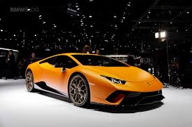 Lamborghini Huracan Design - 2017 geneva lamborghini huracan performante makes a splash