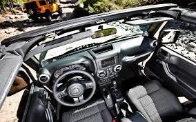 99 Jeep Wrangler Interior 2012 Jeep Wrangler First Drive Automobile Magazine