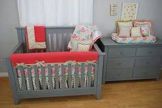 pink circles and stripes crib bedding pink in the nursery