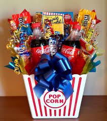 family movie night basket that our will raffle off during