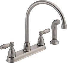 discontinued delta kitchen faucets delta kitchen faucets with 2 handles ebay