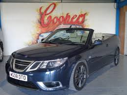 used saab 9 3 aero blue cars for sale motors co uk