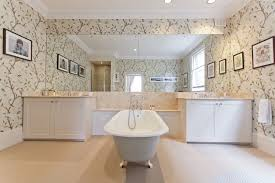 Bathroom Border Ideas by Awesome Wallpaper Borders For Bathrooms Ideas Home Design Ideas