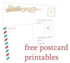 printable postcard template for students draw your own postcard postcard template free printable and template