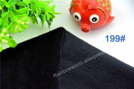 drap canap 199 noir microfibre minky doux velboa tissu polaire tricot pour