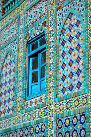 Moroccan Art History by Blue Mosque In Mazar E Sharif Afghanistan Islamic Arts And