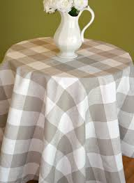 Fitted Round Tablecloth Red Buffalo Check Tablecloth Premier Prints Anderson Lipstick