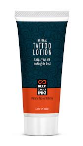 natural tattoo lotion keep your ink