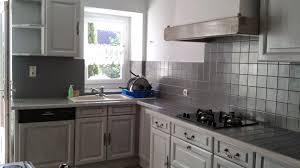 cuisine repeinte en gris peinture pour meuble de cuisine v33 15 indogate cuisine repeinte