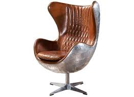 Antique Leather Armchairs For Sale Aviator Spitfire Aluminum Tomcat Chair In Vintage Black Leather
