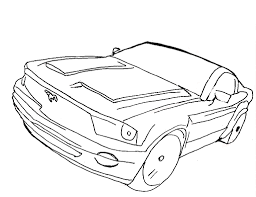 free cars coloring pages print funycoloring