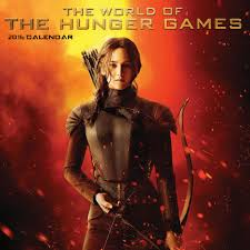 new the world of the hunger games 2016 wall calendar available for