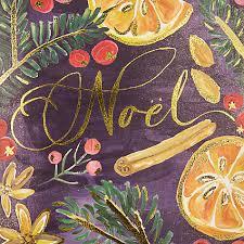 buy john lewis noel fruits charity christmas cards pack of 6