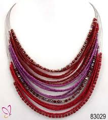 seed necklace images Multi layer seed bead necklace at rs 165 piece new delhi id jpg