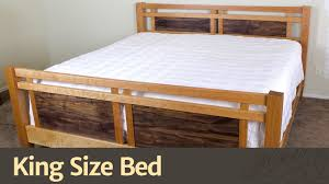 King Wood Bed Frame 260 King Size Bed
