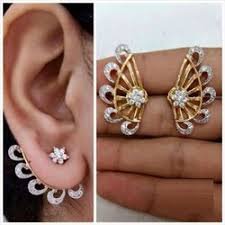 ear cuff online youbella buy designer ear cuffs earrings online for women
