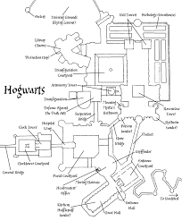 hogwarts castle plan by decat deviantart com on deviantart