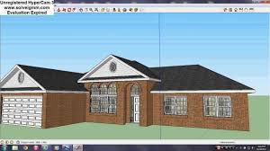 Calculating Square Footage Of House Sketchup Square Footage Calculation Youtube