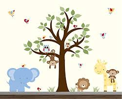 Jungle Wall Decal For Nursery Cheap Jungle Animal Wall Stickers Find Jungle Animal Wall