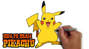 how to draw pikachu pokemon youtube